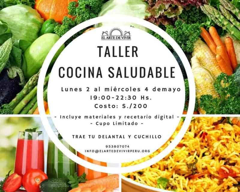 Taller de cocina saludable for Cocina saludable